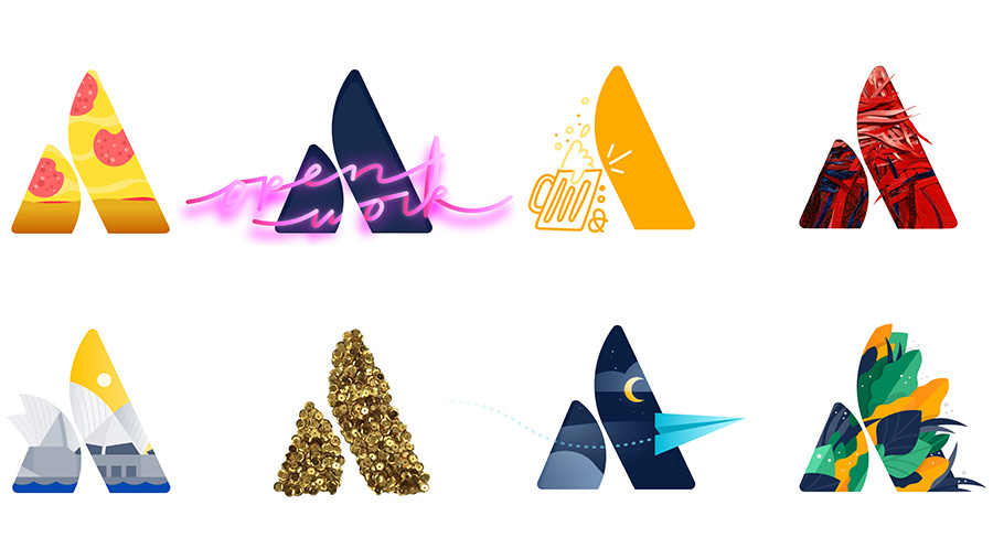 New Atlassian Logo Versions