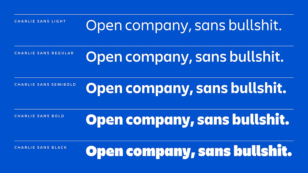 New Atlassian Typeface